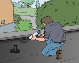 Isoler une toiture plate