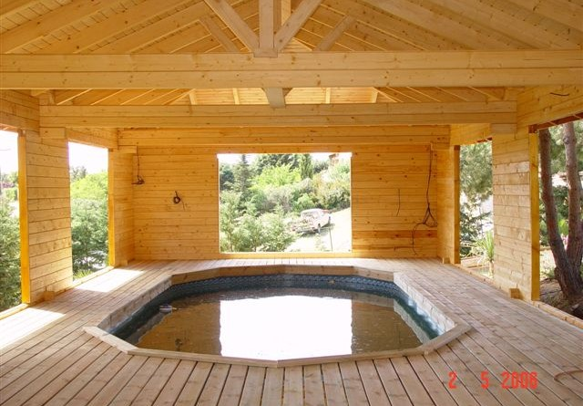 Abri de jardin archives jardi brico for Abri piscine bois