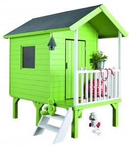 maisonnette bois ou cabane enfant jardi brico. Black Bedroom Furniture Sets. Home Design Ideas