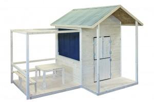 cabane enfant en bois, maisonnette en bois pour vos enfants