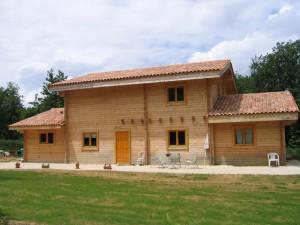 Maison bois en madriers