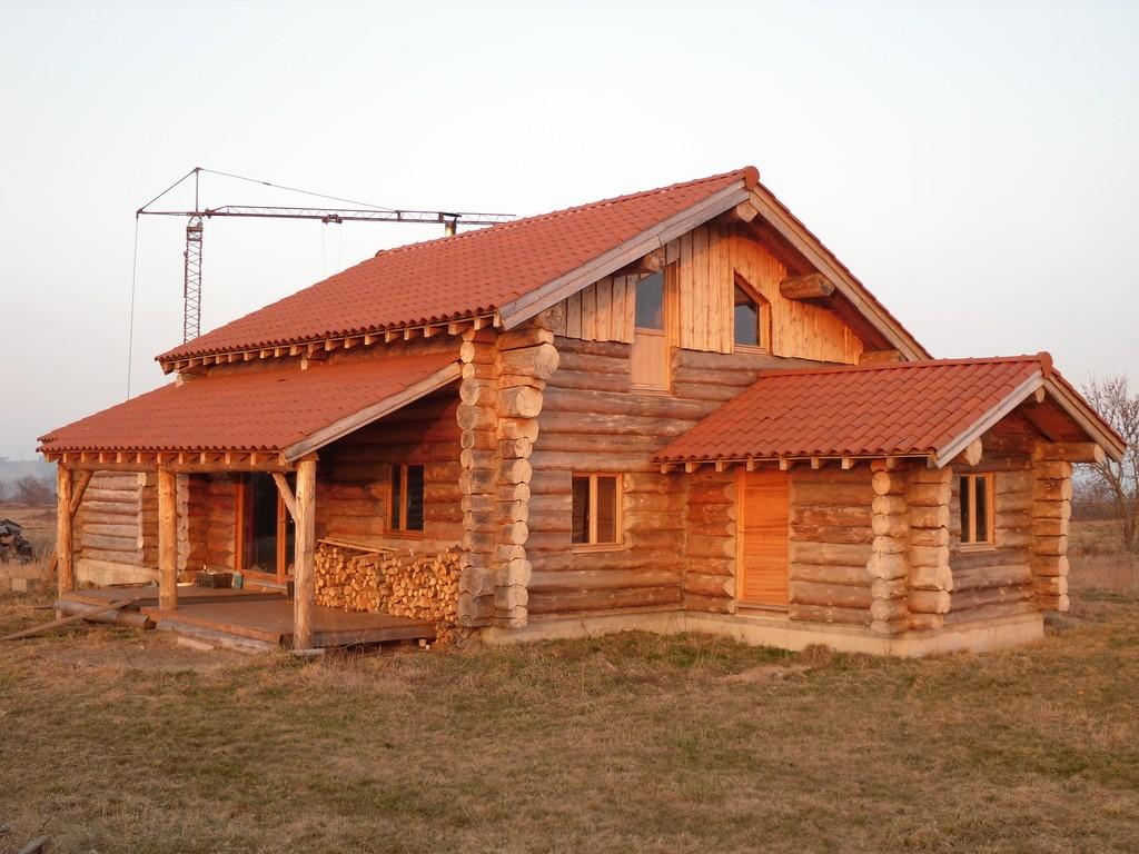 Maison en fustes jardi brico - Maison contemporaine construite autour dun arbre ...