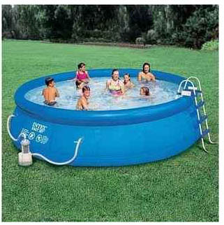 Piscine gonflable boudin jardi brico for Piscine a boudin