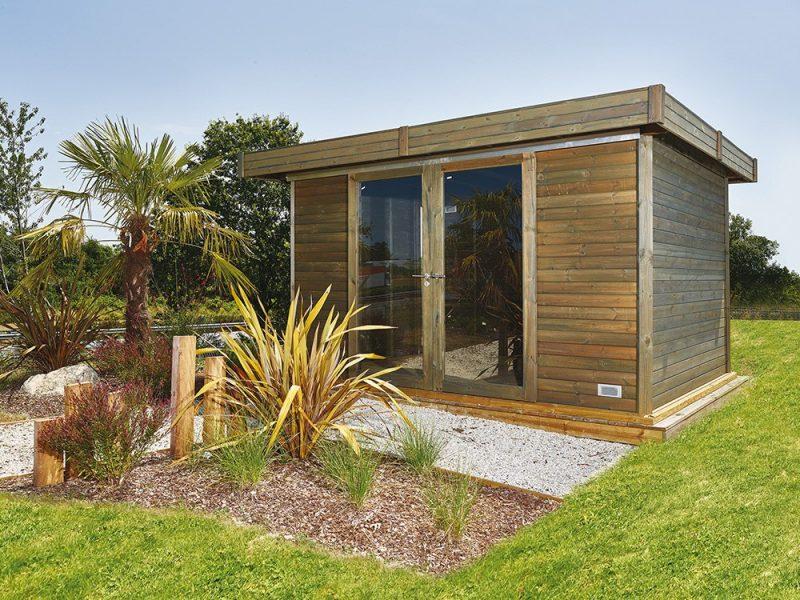 cabane de jardin et abris voiture en bois vivre en bois durapin. Black Bedroom Furniture Sets. Home Design Ideas